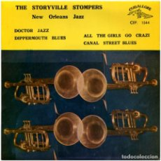 Discos de vinilo: THE STORYVILLE STOMPERS ‎– NEW ORLEANS JAZZ - EP SPAIN 1064 - CUBALEGRE CEP 1544. Lote 69948097