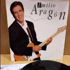 Discos de vinilo: EMILIO ARAGÓN. TE HUELEN LOS PIES. LP / CBS-SONY - 1990 / MBC. ***/***. Lote 69951765