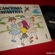 Discos de vinilo: CANCIONES INFANTILES 1 ARCADIO DE LARREA CORO INFANTIL EP 1958 PROMO COLUMBIA. Lote 69957577