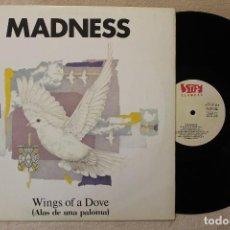 Discos de vinilo: MADNESS WINGS OF A DOVE MAXI SINGLE VINYL MADE IN SPAIN 1983. Lote 69965661