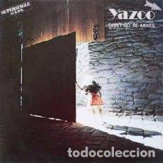 Discos de vinilo: YAZOO - DON'T GO . REMIXES. Lote 69985137