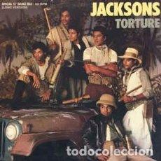 Discos de vinilo: JACKSONS - TORTURE. Lote 69986265