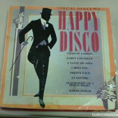 Discos de vinilo: LP. HAPPY DISCO. SPECIAL DANCE MIX. 1983. CBS. Lote 69999889