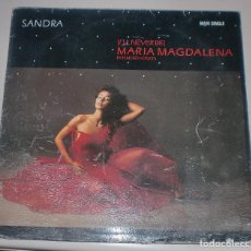 Discos de vinilo: LP. SANDRA. MARIA MAGDALENA. I'LL NEVER BE. EXTENDED VERSION. 1985. RECORDS. Lote 70003569