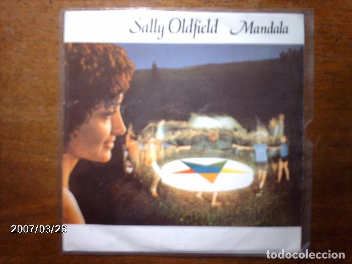 SALLY OLDFIELD - MANDALA + WOMAN OF THE NIGHT (Música - Discos de Vinilo - Singles - Pop - Rock Extranjero de los 80)