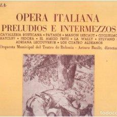 Discos de vinilo: VINILOS OPERA ITALIANA EL QUE VES. Lote 70010633