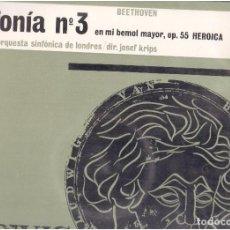 Discos de vinilo: VINILOS SINFONIA N. 3 DE BETOVEN EL QUE VES. Lote 70010701