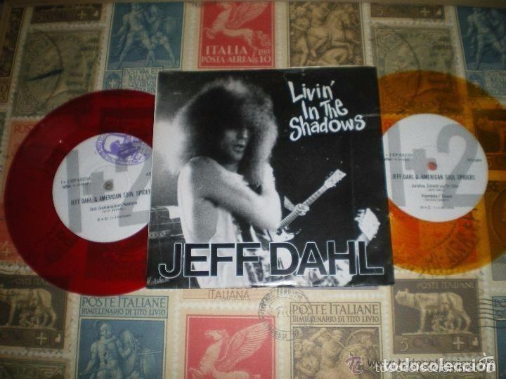JEFF DAHL LIVIN IN THE SHADOWS DOBLE COLOR (1992-BARN HOMES ) MUY RARO ORIGINAL JAPON (Música - Discos - Singles Vinilo - Punk - Hard Core)