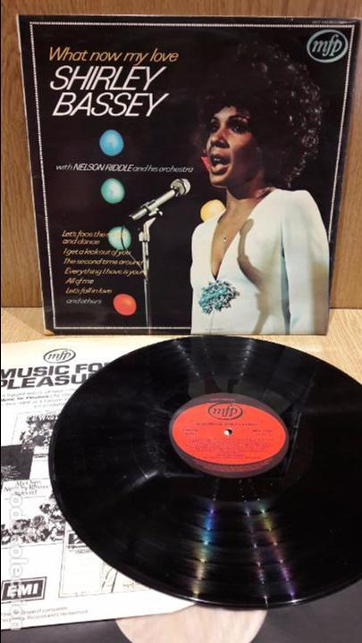 SHIRLEY BASSEY / NELSON RIDDLE & ORCHESTRA. WHAT NOW MY LOVE. LP / MFP-1962 / MBC. ***/*** (Música - Discos - LP Vinilo - Funk, Soul y Black Music)