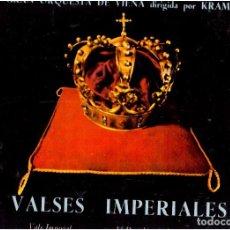 Discos de vinilo: VINILOS VALSES IMPERIALES EL QUE VES. Lote 70024697