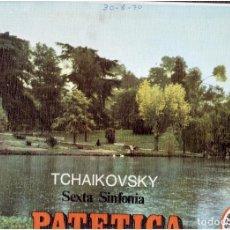 Discos de vinilo: VINILOS TCHAIKOVSKY VI SINFONIA EL QUE VES. Lote 70032893