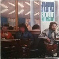 Discos de vinilo: JOAQUÍN SABINA. CALLE MELANCOLÍA/ CÍRCULOS VICIOSOS. EPIC, SPAIN 1980 (SINGLE PROMOCIONAL). Lote 70038801