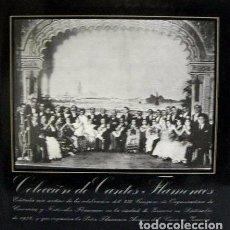 Discos de vinilo: COLECCIÓN DE CANTES FLAMENCOS - A. CHACÓN, MANUELTORRE, NIÑA DE LOS PEINES, TOMÁS PAVÓN, MOJAMA. Lote 70039341
