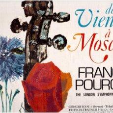Discos de vinilo: VINILOS FRANCK POURCEL QUE VES. Lote 70040617