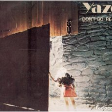 Discos de vinilo: VINILOS YAZZO DONT GO REMIXES QUE VES. Lote 70041057