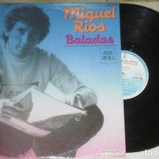 Discos de vinilo: LP MIGUEL RIOS BALADAS 1982. Lote 70044989