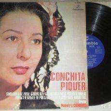 Discos de vinilo: LPCONCHITA PIQUERCONCHITA PIQUERLPCOLUMBIA1970. Lote 70045689