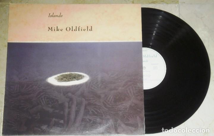 LP MIKE OLDFIELD ISLAND - VIRGIN 1987 (Música - Discos de Vinilo - EPs - Pop - Rock - New Wave Extranjero de los 80)