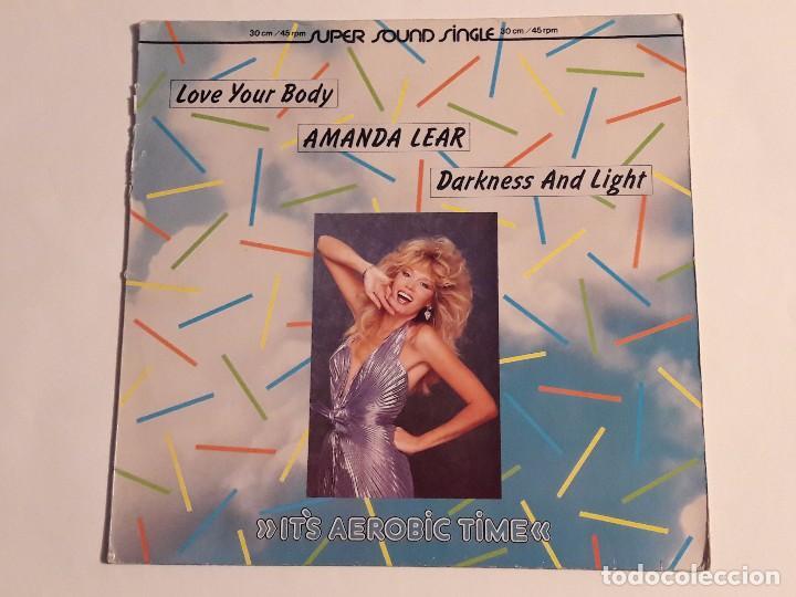 AMANDA LEAR - LOVE YOUR BODY - 1983 (Música - Discos de Vinilo - Maxi Singles - Disco y Dance)