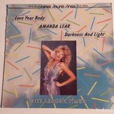 Discos de vinilo: AMANDA LEAR - LOVE YOUR BODY - 1983. Lote 70051045