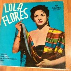 Discos de vinilo: EP LOLA FLORES OLE DOLORES. Lote 70052622