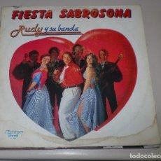 Discos de vinilo: LP. FIESTA SABROSONA. RUDY Y SU BANDA. OLYMPO. 1981. Lote 70061113