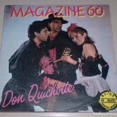 Discos de vinilo: LP. MAGAZINE 60. DON QUICHOTTE. BLANCO Y NEGRO. 1985. Lote 70061129