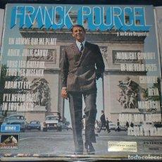 Discos de vinilo: LP. FRANCK POURCEL Y SU ORQUESTA. EMI LA VOZ DE SU AMO. 1969. Lote 70061609