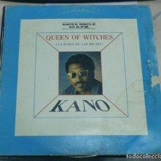 Discos de vinilo: LP. KANO. QUEEN OF WITCHES. LA REINA DE LAS BRUJAS. HISPAVOX. 1983. Lote 70065081