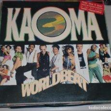 Discos de vinilo: LP. KAOMA. WORLDBEAT. CBS. 1989. Lote 70067365