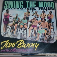 Discos de vinilo: LP. SWING THE MOOD. LIVE BUNNY AND THE MASTERMIXERS. BCM RECORDS. 1989. Lote 70067521