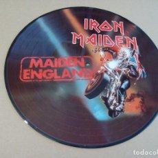 Discos de vinilo: IRON MAIDEN - MAIDEN ENGLAND ( LP PICTURE ) NUEVO. Lote 190824741