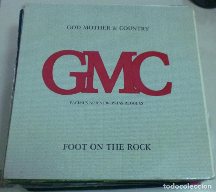 LP. GMC. GOD MOTHER & COUNTRY. FOOT ON THE ROCK. 1985. FONOMUSIC (Música - Discos - LP Vinilo - Country y Folk)