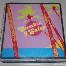 Discos de vinilo: LP. CUMBIA Y SALSA. EDIGSA. 1980.. Lote 70073557
