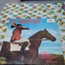 Discos de vinilo: LA MONTERIA. JOSE RAMOS MARTÍN Y JACINTO GUERRERO. C7V. Lote 70073657