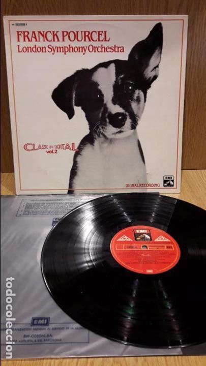FRANCK POURCEL / LONDON SYMPHONY ORCHESTRA. CLASSIC IN DIGITAL. LP / EMI / MBC. ***/*** (Música - Discos - LP Vinilo - Orquestas)