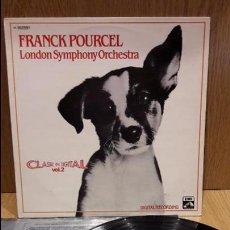 Discos de vinilo: FRANCK POURCEL / LONDON SYMPHONY ORCHESTRA. CLASSIC IN DIGITAL. LP / EMI / MBC. ***/***. Lote 70073701