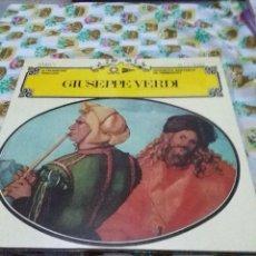 Discos de vinilo: GUISEPPE VERDI. IL TROVATORE. ORQUESTA SINFONICA DE HAMBURGO. C7V. Lote 70075009