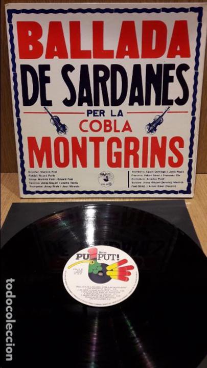 BALLADA DE SARDANES PER LA COBLA MONTGRINS. LP-GATEFOLD / PUPUT - 1979 / MBC. ***/*** (Música - Discos - LP Vinilo - Country y Folk)