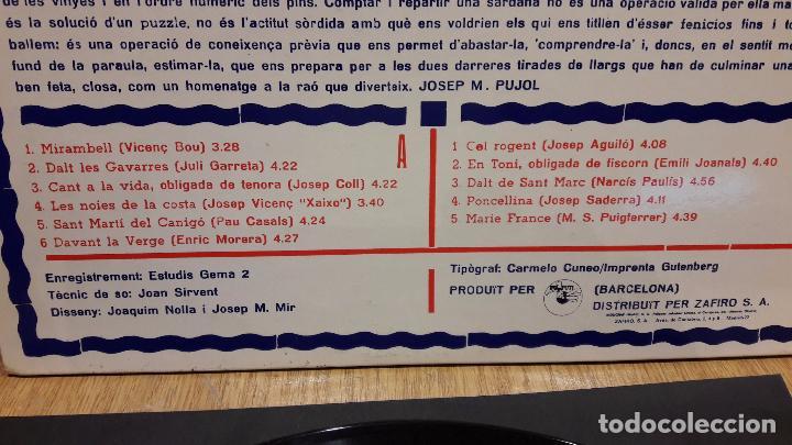 Discos de vinilo: BALLADA DE SARDANES PER LA COBLA MONTGRINS. LP-GATEFOLD / PUPUT - 1979 / MBC. ***/*** - Foto 4 - 70096761