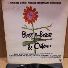 Discos de vinilo: B.S.O. BLESS THE BEASTS & CHILDREN. LP / AM RECORDS - 1971 / MBC. ***/***. Lote 70097377