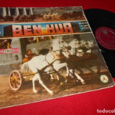 Discos de vinilo: BEN HUR UNA HISTORIA DEL TIEMPO DE CRISTO LP 1961 DISCOTECA POPULAR CATOLICA EDICION ESPAÑOLA SPAIN. Lote 70099029