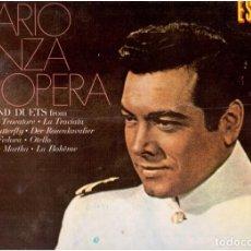 Discos de vinilo: VINILOS MARIO LANZA EN OPERA. Lote 148083772