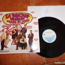 Discos de vinilo: LA DECADA PRODIGIOSA MADE IN SPAIN FIRMA DE CECILIA MAXI SINGLE VINILO FESTIVAL EUROVISION 1988. Lote 70106573