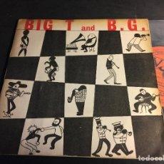 Discos de vinilo: BIG T AND B.G. (JACK TEAGARDEN / BENNY GOODMAN ) EP JAPAN VEP 13 (EPI3). Lote 70114249