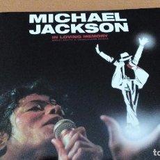Discos de vinilo: MICHAEL JACKSON IN LOVING MEMORY (GREAT DUETS & UNRELEASED DEMOS) 2XLPS CARPETA DOBLE. Lote 70118025
