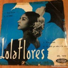 Discos de vinilo: EP FRANCÉS LOLA FLORES MARIA BONITA. Lote 70118354