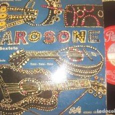 Discos de vinilo: RENATO CAROSONE Y SU SEXTETO - FELICES NAVIDES AMOR (PATHE OG ESPAÑA. Lote 70135377