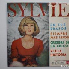 Discos de vinilo: SYLVIE VARTAN- EN TUS BRAZOS +3- SPANISH EP 1965.. Lote 70138745