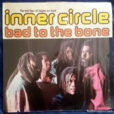 Discos de vinilo: INNER CIRCLE: BAD TO THE BONE, LP WEA 9031-76520-1. GERMANY, 1992. EX/VG. Lote 70139741